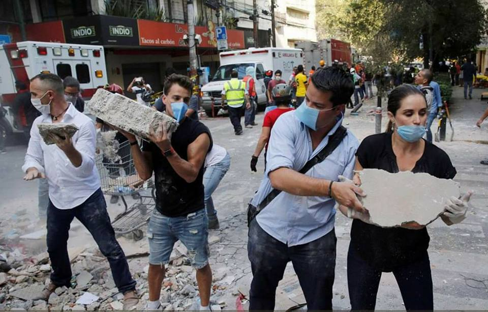 #FuerzaMéxico: Hashtag que unió a toda una nación