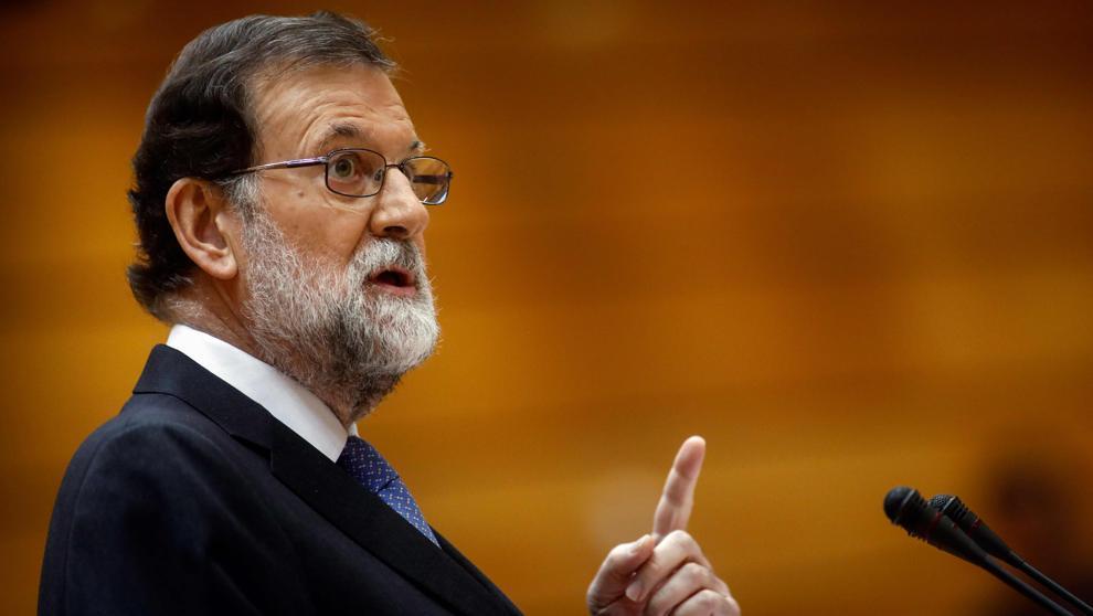 Rajoy no quiere independencia de Cataluña