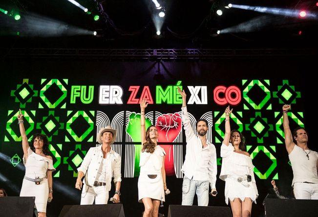 Estrellas se unen por una causa #FuerzaMéxico