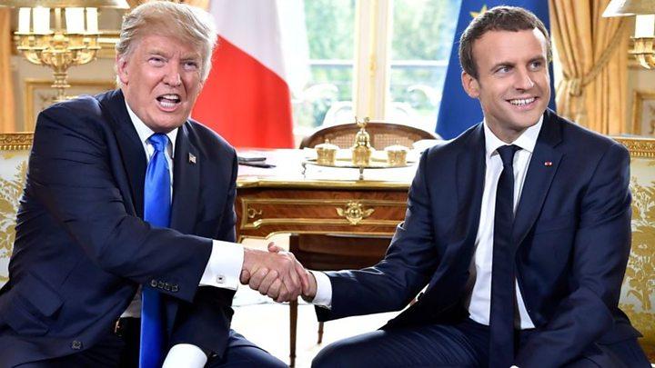 """No invita Francia a Trump al """"One Planet Summit"""""""
