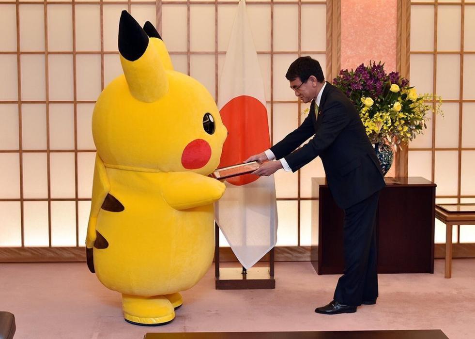 Pikachu y Hello Kitty, embajadores de Japón