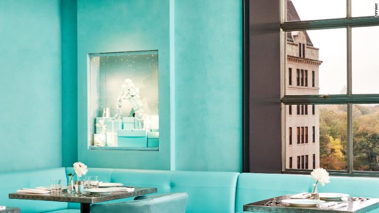 "Tiffany & Co. abre ""The Blue Box Cafe"""
