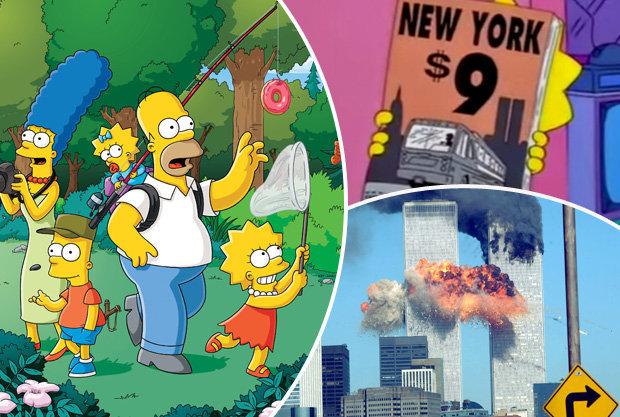 """Increíbles predicciones hechas por """"Los Simpsons"""""""