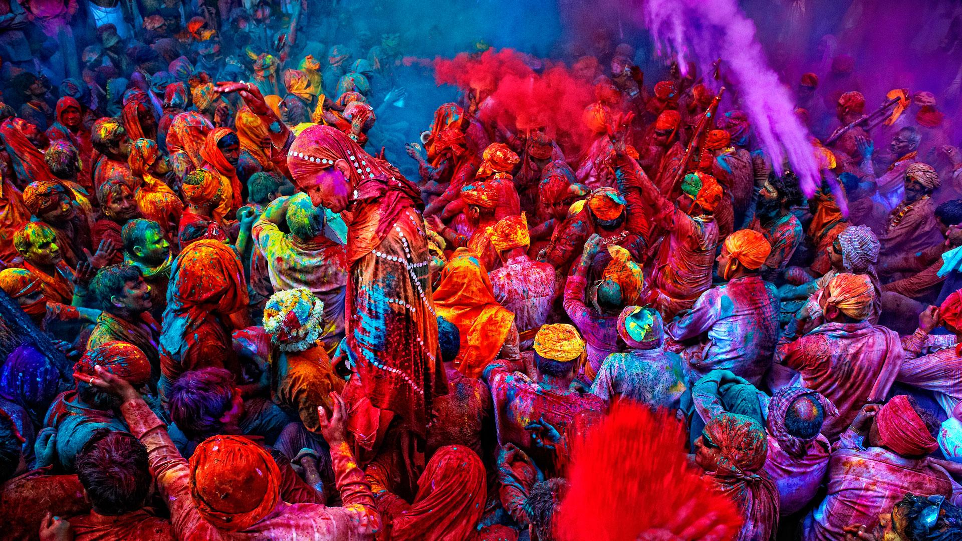 Festival Holi 2018, tras la primera luna llena comienza la primavera en India